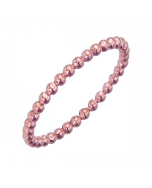9ct Rose Gold Bead Stacker...