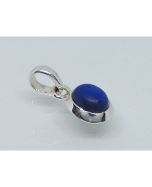 Silver & Lapis Lazuli Pendant