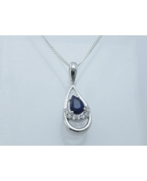 Silver & Sapphire & Cubic...