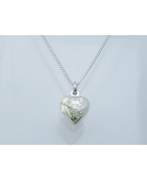 Silver Heart Locket...