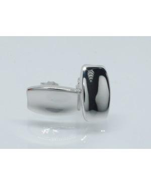 Silver Concave Rectangular...