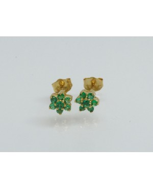 9ct Yellow Gold & Emerald 7...