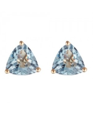 9ct White Gold & Aquamarine...