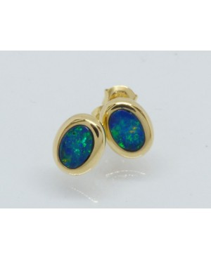 14ct Yellow Gold & Opal...