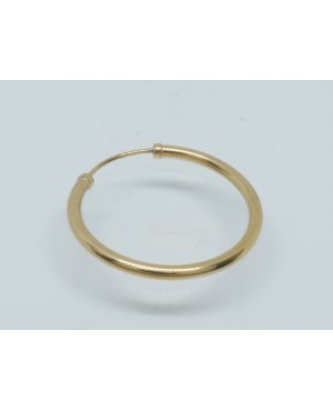 9ct Yellow Gold Single Hoop...