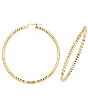 9ct Yellow Gold Hoop Clip...