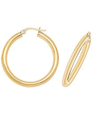 9ct Yellow Gold Clip Hoop...