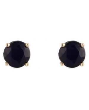 9ct Yellow Gold Sapphire Earrings 4mm