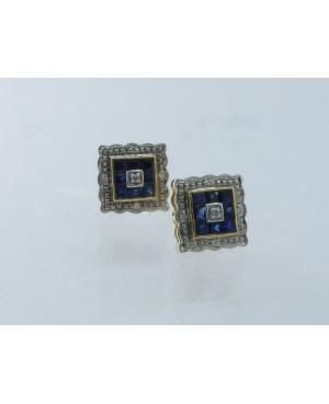 9ct Gold Sapphire & Diamond...