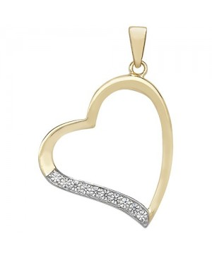 9ct Yellow Gold & Cubic...