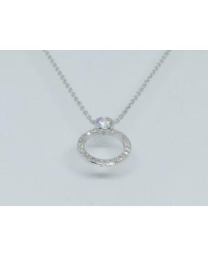 9ct White Gold Diamond...