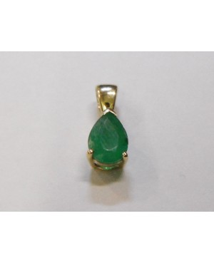 9ct Yellow Gold & Emerald...