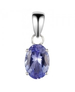 9ct White Gold & Tanzanite...