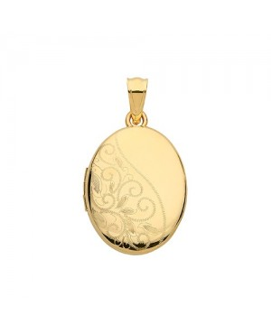 9ct Yellow Gold Locket With...