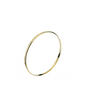 9ct Yellow Gold D Shaped...