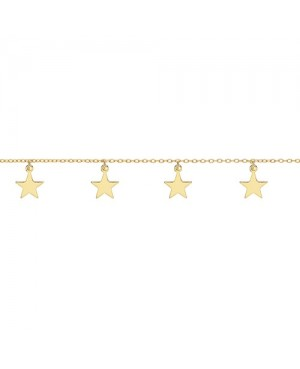 Gold Plated Silver Star...