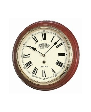 Seiko Wooden Station clock