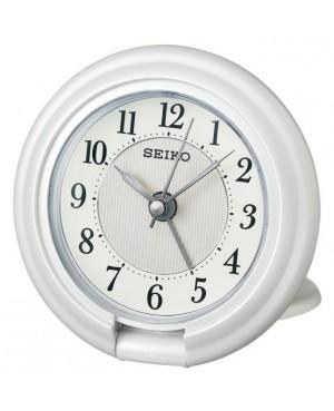 Seiko White Travel Alarm