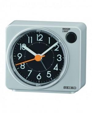 Seiko Grey Alarm Clock