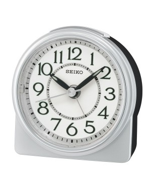 Seiko Grey Alarm Clock