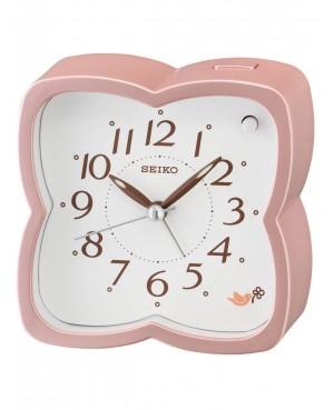 Seiko Pink Bird Alarm Clock