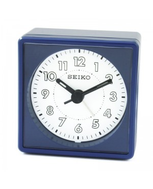 Seiko Blue Alarm Clock