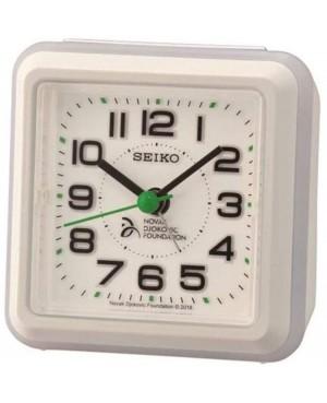 Seiko White Alarm Clock
