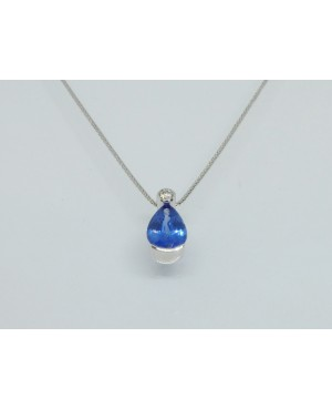 18ct White Gold Sapphire &...