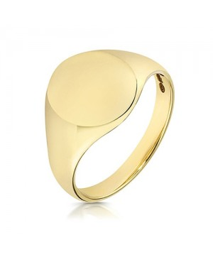 9ct yellow Gold Oxford Oval...
