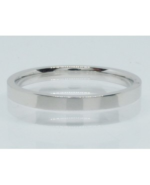 9ct White Gold Band 2.5mm