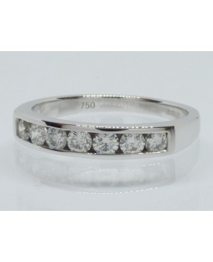 18ct White Gold & Diamond 7...