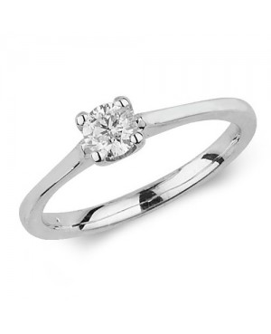 9ct White Gold Diamond...