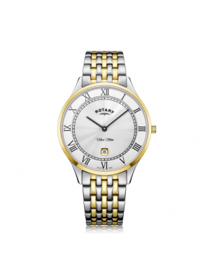Rotary Bicolour Bracelet Watch