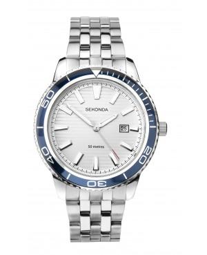 Sekonda Chrome Plated Bracelet Watch