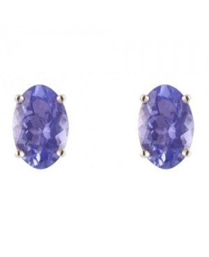 Gold & Tanzanite Earrings