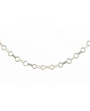 """Silver Handmade Bracelet 7.5"""""""