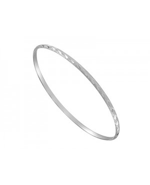 Silver Stacker Bangle