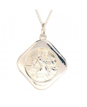 Silver St Christopher and...