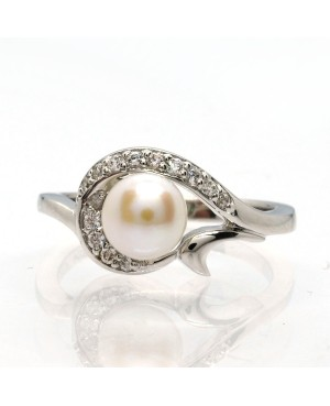 Silver Freshwater Pearl and...