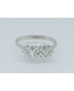 18ct White Gold & Diamond 3...