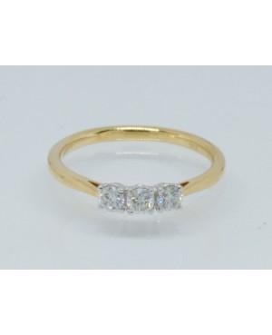 18ct Yellow Gold & Diamond...