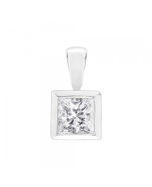Silver & Cubic Zirconia Rub...