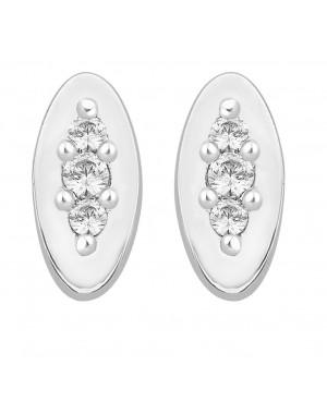 Silver & Cubic Zirconia 3...