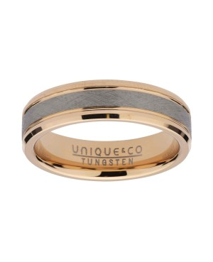 Rose Gold Plated Tungsten...