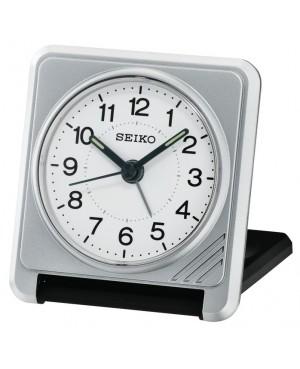 Seiko Grey Travel Alarm Clock