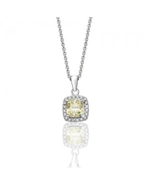 Sterling Silver Yellow &...