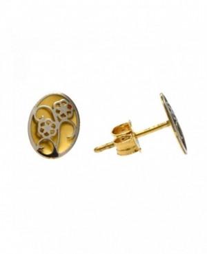 9ct Yellow Gold Earrings