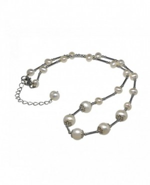 Silver & Freshwater Pearl Necklace