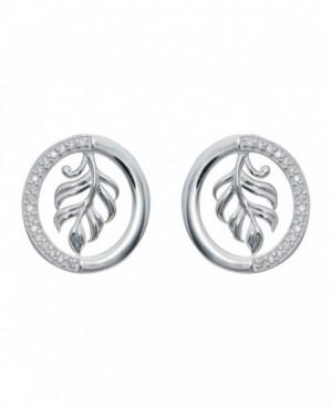 Silver & C.Z. Earrings