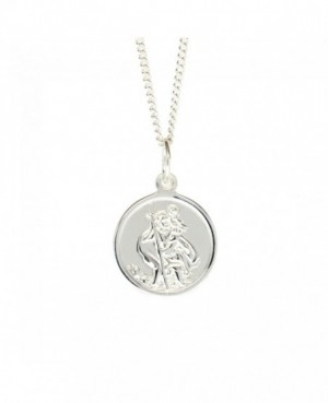 Silver St Christopher & Chain